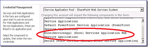 Granting Excel Services access rights to your #PowerPivot