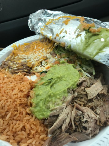 Carnitas Plate from Juanita's Taco Shop